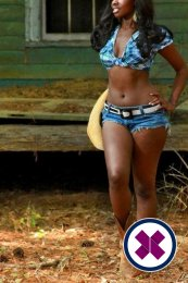Meet the beautiful Ebony Myly in   with just one phone call