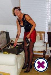 Mistress Donna M is a super sexy British Escort in Cardiff